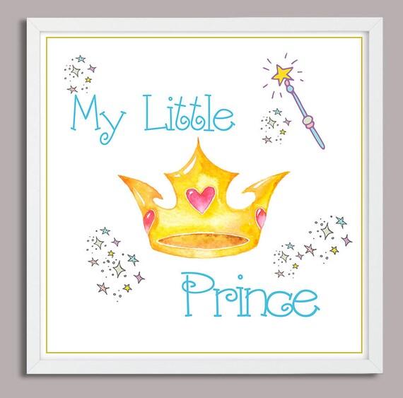 Nursey Printable Nursery Wall Art Baby Quotes My Little Etsy