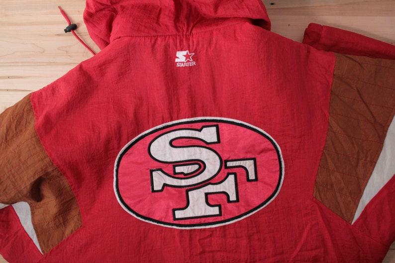 24332c44 San Francisco 49ers Starter jacket men's XL