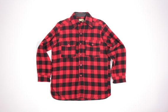 Vintage L.L. Bean signature label hunting shirt