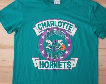 Vintage Charlotte Hornets t-shirt