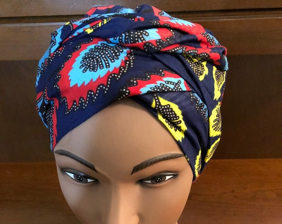 Headwrap,Satin Bonnet, Double layered bonnet, Satin Cap, reversible hats, hair protection, bonnet for natural hair, African print, Wax Print