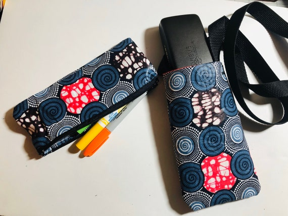 Purse- Phone Case- Pencil Case- Travel Satchel- Coin Pouch- African Print- Wax Print- Ankara- Crossbody Bag