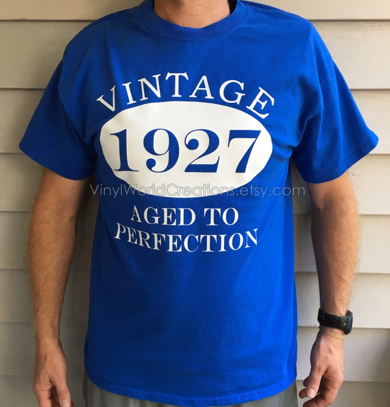 90 Year Old T Shirt Birthday Vintage