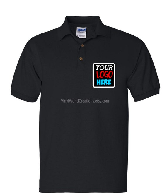 Custom Polo Shirts Personalized Polo Shirts Business Etsy