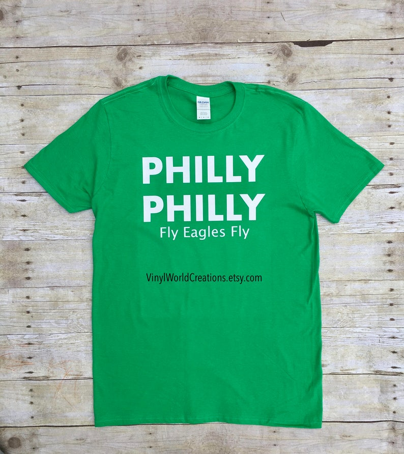 Philly Philly T-shirt Fly eagles fly Philadelphia Eagles  6bc81b60e