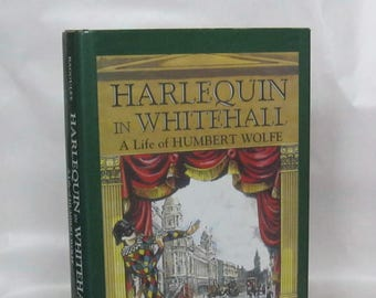 Harlequin in Whitehall. Philip Bagguley. 1st. Edition.