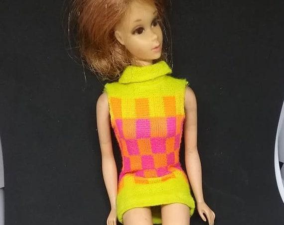 Vintage Walking Mattel Jamie Doll, 1967 Patent