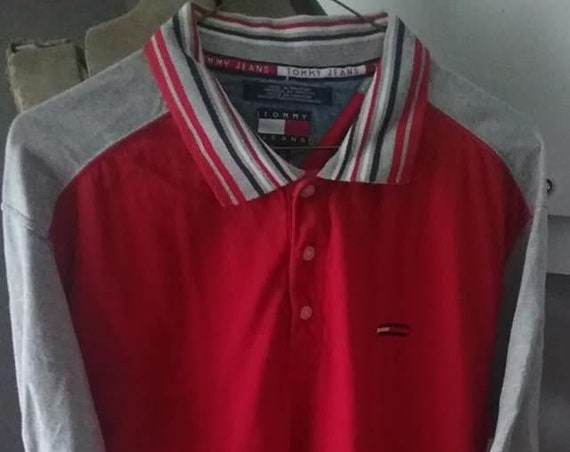 Men's Vintage Tommy Hilfiger Shirt, Golf or Polo Style