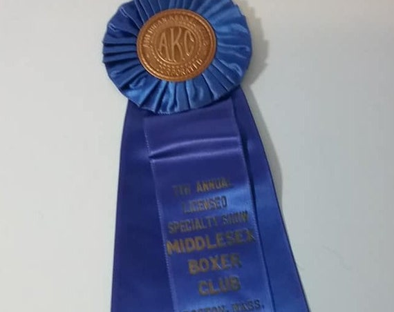 1950's Kennel Club Blue Ribbon