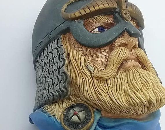 Bosson Head, King Olaf Tryggvasson, Character Series Chalkware,