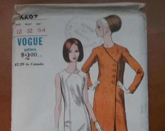 Vogue 1960's Special Design Pattern, #6697