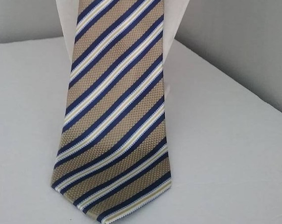 Vintage Geoffrey Beene Tie, Italian Silk