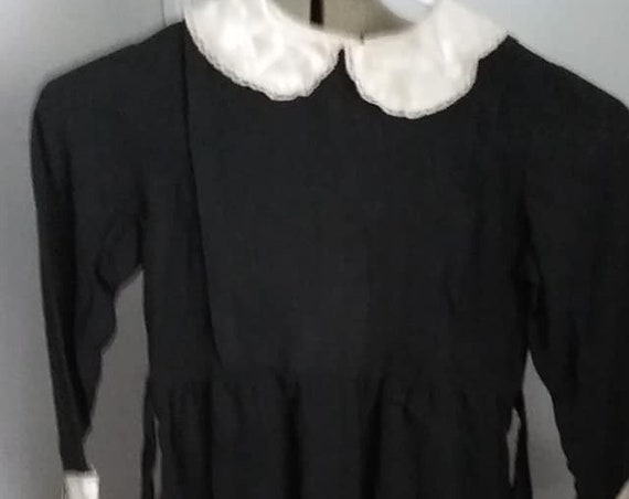 Rare Edwardian Child's Mourning Dress