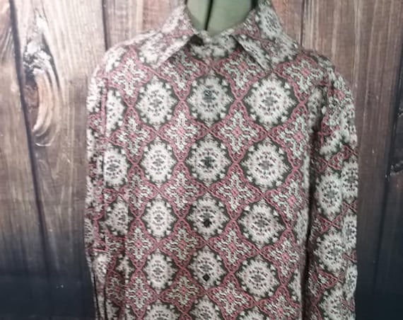 Vintage Perry Ellis Long Sleeve Shirt