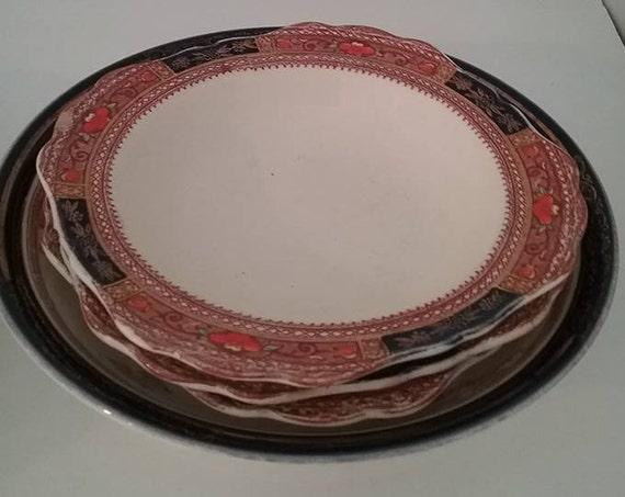 Vintage Bowls, Vintage Mismatched Bowls, Vintage Dessert Bowls, Mixed Vintage Dessert Bowls, Mismatched Dessert Bowls, Tea Party Mixed Bowls