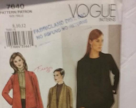 Vogue 3 Piece Pattern