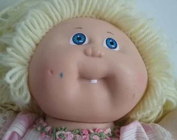 Vintage 1980's Cabbage Patch Doll with Dress