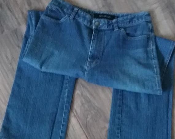 Vintage Women's Calvin Klein Jeans, Flared Leg