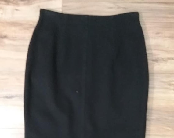 Vintage Designer Pencil Skirt
