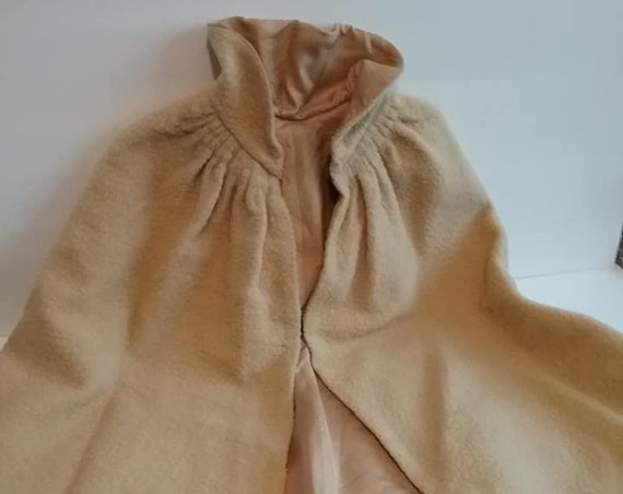 Edwardian Child's Wool Cape