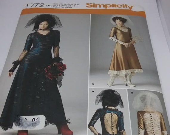Goth or Steampunk Formal Dress Pattern