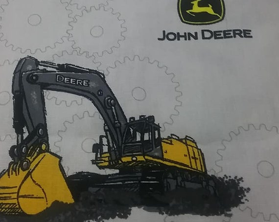 Novelty Material, John Deere Licensed Fabric, Cotton