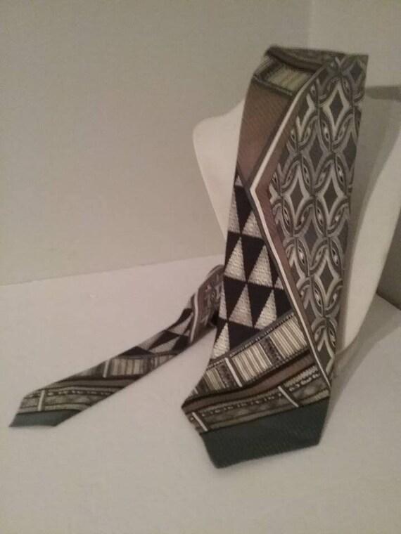 Men's Designer Silk Tie, Domenico Franco Como, Italian