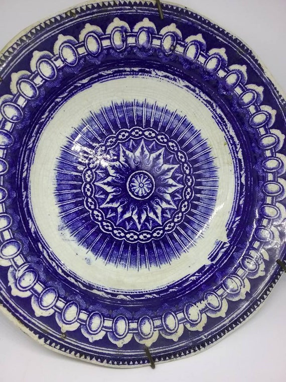 Antique Delft Bowl, Dutch Delft Plate, Blue and White Delft, Antique Blue and White Delft, Antique Delft Blue, Decorative Blue Delft Dish