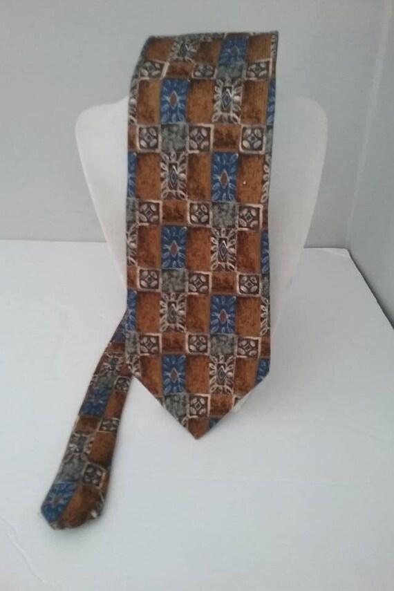 Men's Vintage Silk Tie,  Canadian Made by Moore's