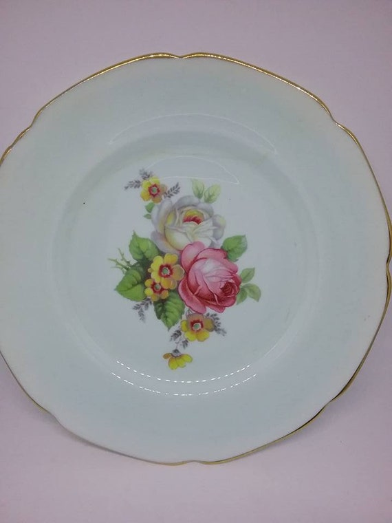 Vintage Paragon Plate, HM Queen Mary