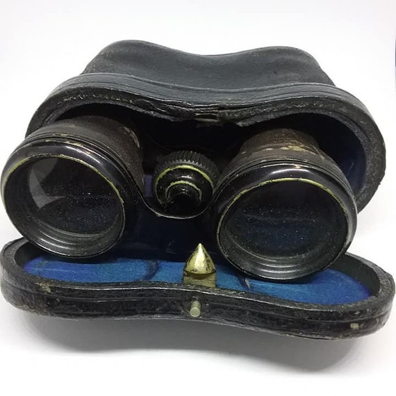 Antique Opera Binoculars, Edwardian Racing
