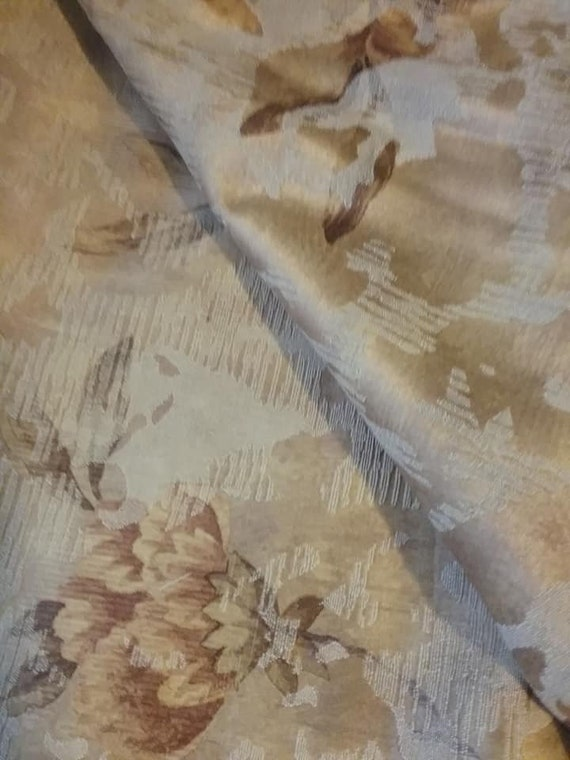 Jacquard Upholstery fabric-Remnants and Tassel Finishing lot