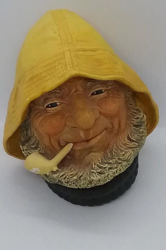 Bosson Head, Old Salt, Bosson Chalkware Head