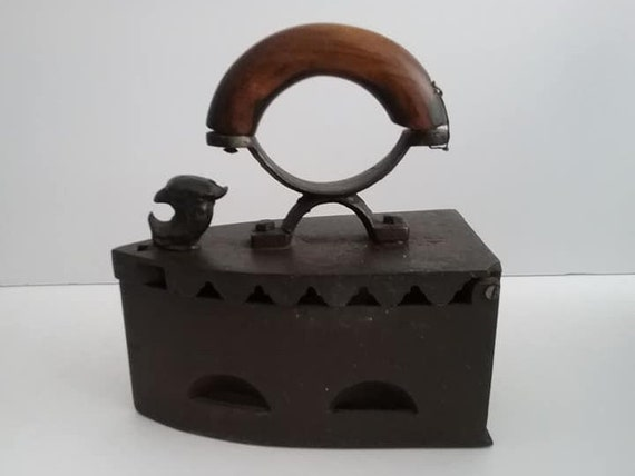 Coal Iron from 1800's, Sad Iron,