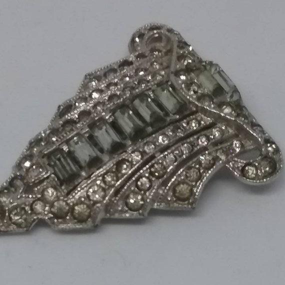Vintage Dress Clip, Phinney Clasp Patent 1852188