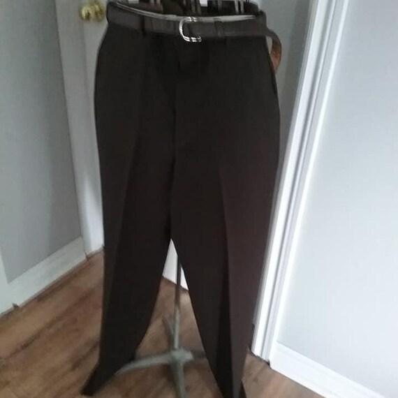 Vintage 1970's Men's Brown Trouser, Towncraft