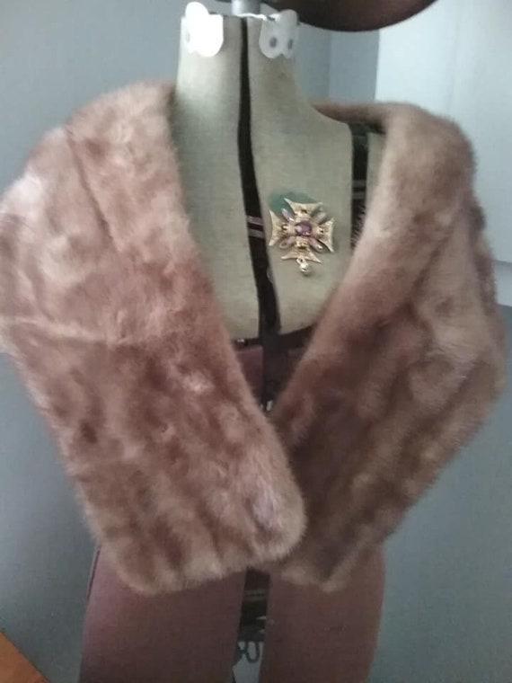 Vintage Mink Stole, Old Hollywood Glam