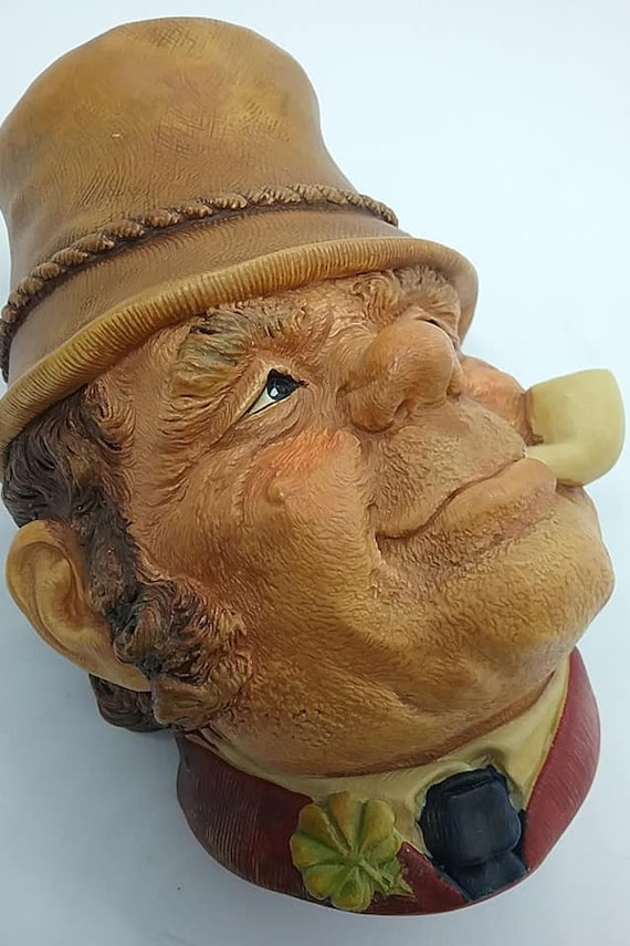 Bosson Head, Paddy, World Character Series, Bosson Chalkware Head
