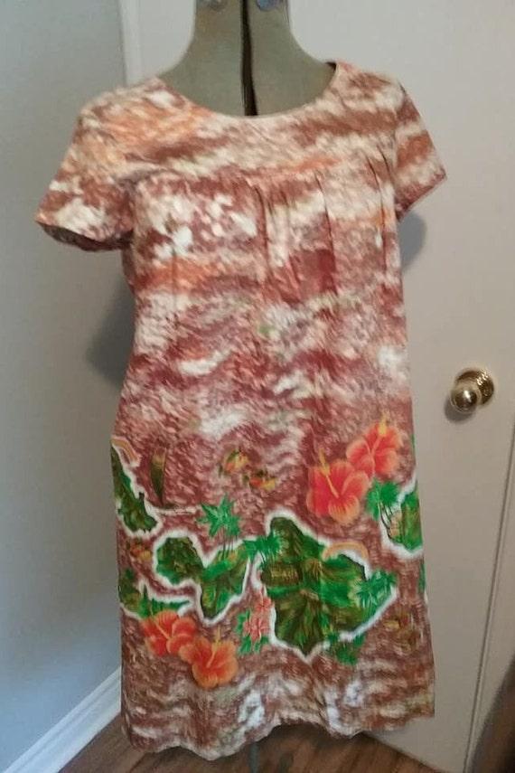 Vintage 1970s Sundress, Vintage Hawaiian Cotton S… - image 5