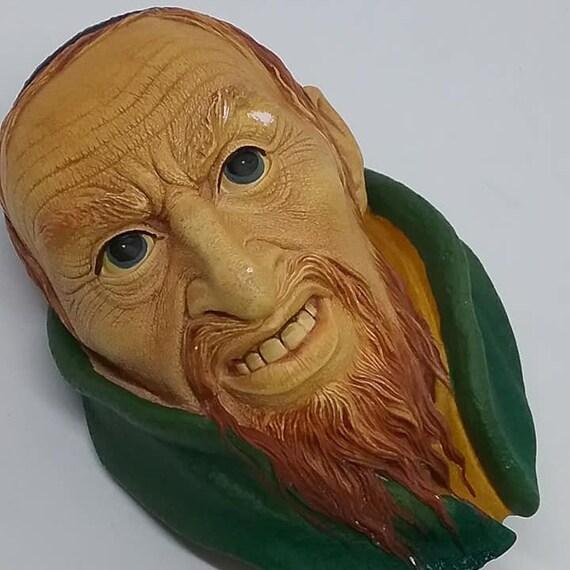 Bosson Head, Fagin, Bosson Chalkware Dicken's Series