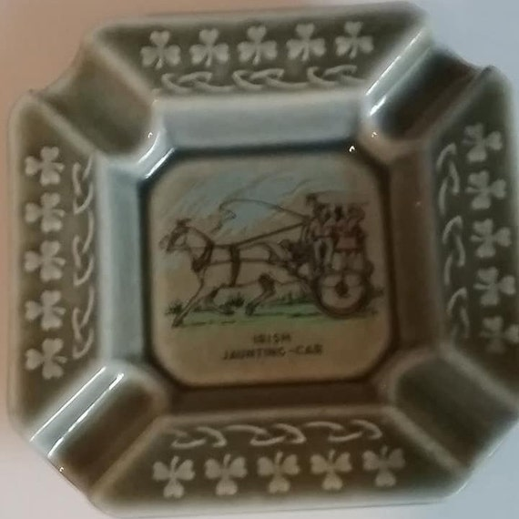 Vintage Ashtray, Irish Porcelain, Wade