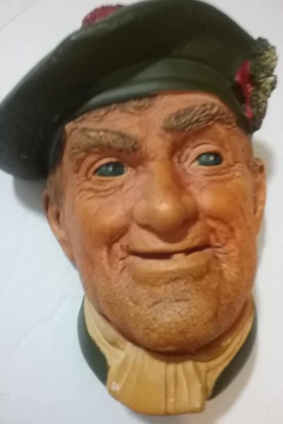 Bosson Head, Jock Bosson Chalkware Head