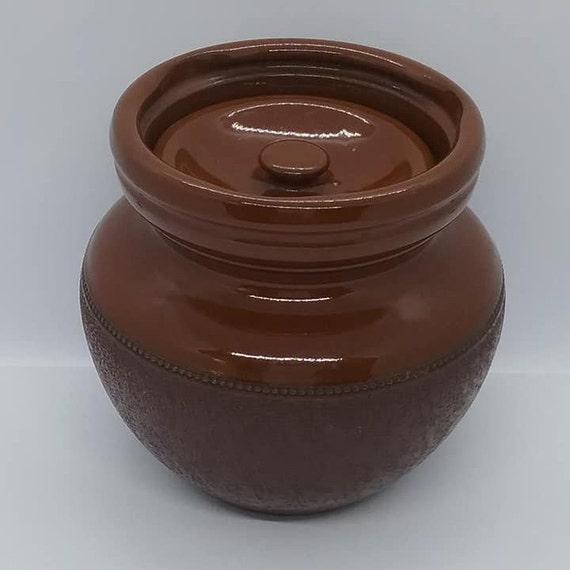 Vintage Brown Crock, Lovatt's Langley Ware