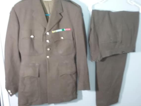 Vintage Canadian Royal Military Uniform