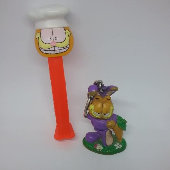 Garfield Collectibles, Key Chain and PEZ