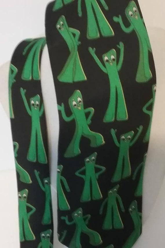 Vintage Men's Tie, Gumby