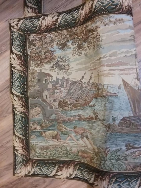 Large Tapestry, Made in Belgium by Metrax