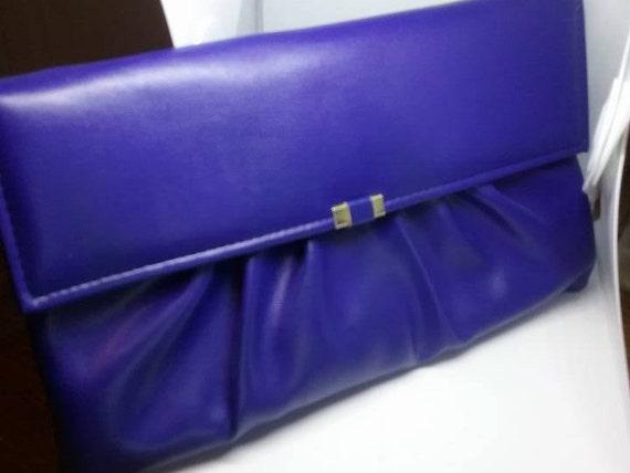 Vintage Blue Hand Bag, Evening Bag