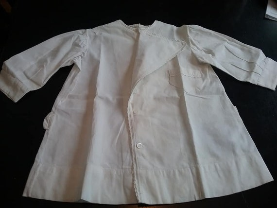 Edwardian Child's White Tunic