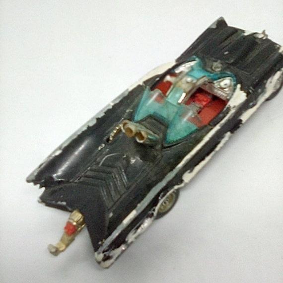 Vintage Corgi Bat Mobile, Die Cast Bat Mobile